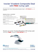 IVOCLAR VIVADENT COMPOSITE DEAL WITH FREE CURING LIGHT