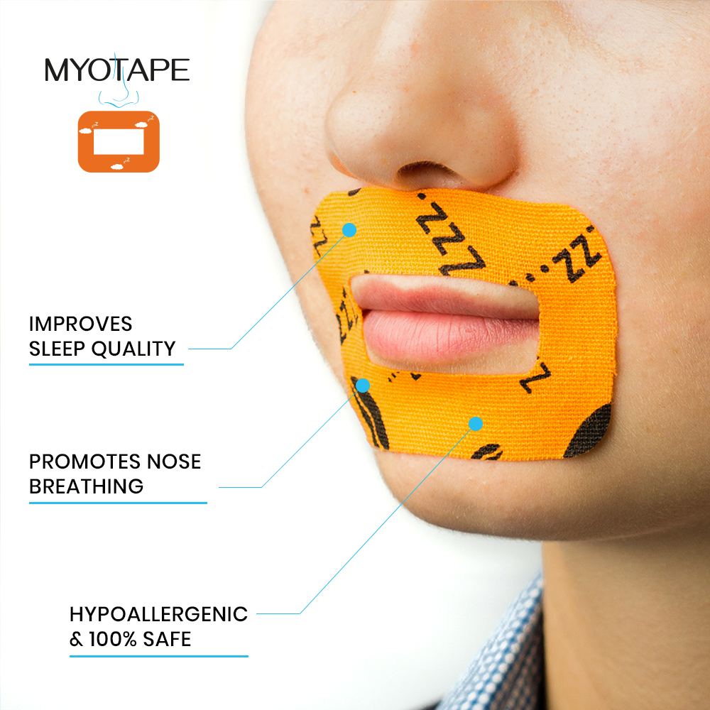 MYOTAPE BREATHING TAPE LARGE (FOR ADULTS) 90PCS