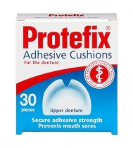 PROTEFIX ADHESIVE CUSHIONS FOR UPPER DENTURES 30PCS