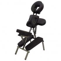 ORABI Indian Head Massage Chair  (Black)