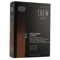 American Crew Precision Blend Medium Ash 5-6 - 3x40ml