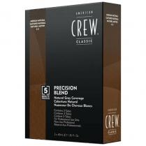 American Crew Precision Blend Medium Natural 4-5 - 3x40ml
