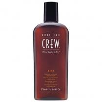 American Crew 3 in 1 Shampoo Classic 250ml