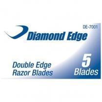 Diamond Edge Cutthroat Razorblades - 5/Box