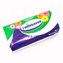 Twinsaver Tissues - Soft Pack of 90