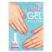 Nailz Gel Polish Poster