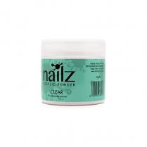 Nailz Acrylic Powder Clear 50g