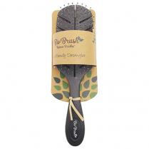 Bio Brush Eco Friendly Detangler - Leaf Shape - Black