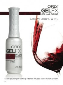 ORLY Poster - Gel FX - Crawfords Wine