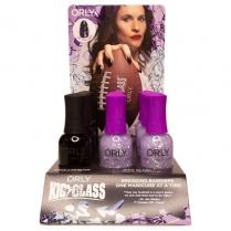 ORLY Nail Lacquer 18ml 2510020 Kick Glass 9pc Display