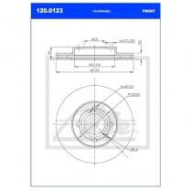 B/Disc DR6243FV / 120.0123