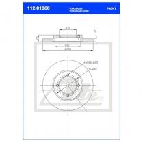 B/Disc DR6245FS / 112.1060
