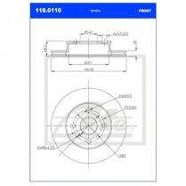 B/Disc DR6246FV / 118.0110