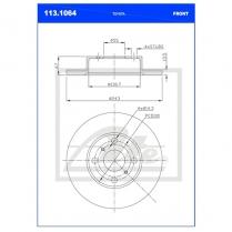 B/Disc DR6251FS / 113.1064