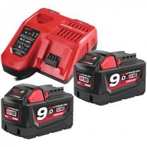 M18 Batteries & Charger Set