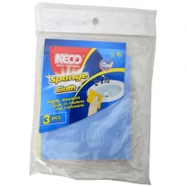 Microfibre Cloth 3Pc NECO
