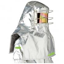 Alpan Flame Hood Gold Visor 5G
