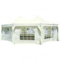 Tent Party PVC 5x7m Pagoda Hex