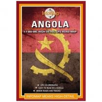 Map Angola Infomap