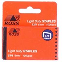 Staples 6mm 1000/Box