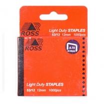 Staples 12mm 1000/Box