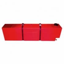 Tank Fuel 55L Square Red