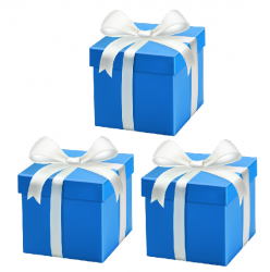 July 2021 - 3 x Mystery Gifts @ R147 with Order of R1197