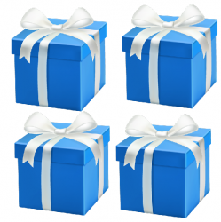 July 2021 - 4 x Mystery Gifts @ R196 with Order of R1596
