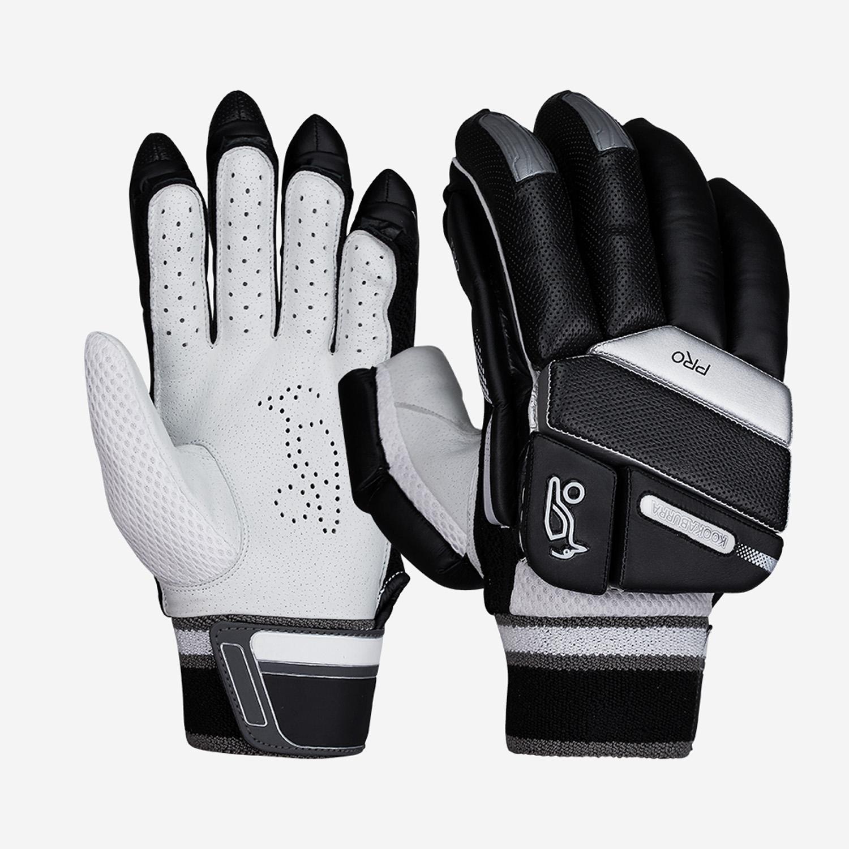 Kookaburra T20 Black Batting Gloves