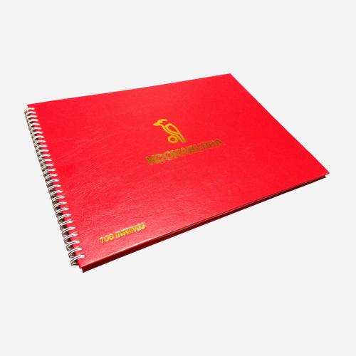 Scorebook Wirebound - 100 inns